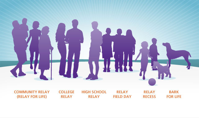 Relay Events For Everyone Infographic