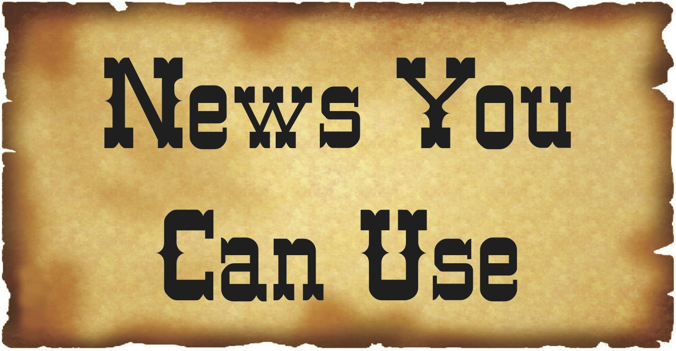 News You Can Use Button