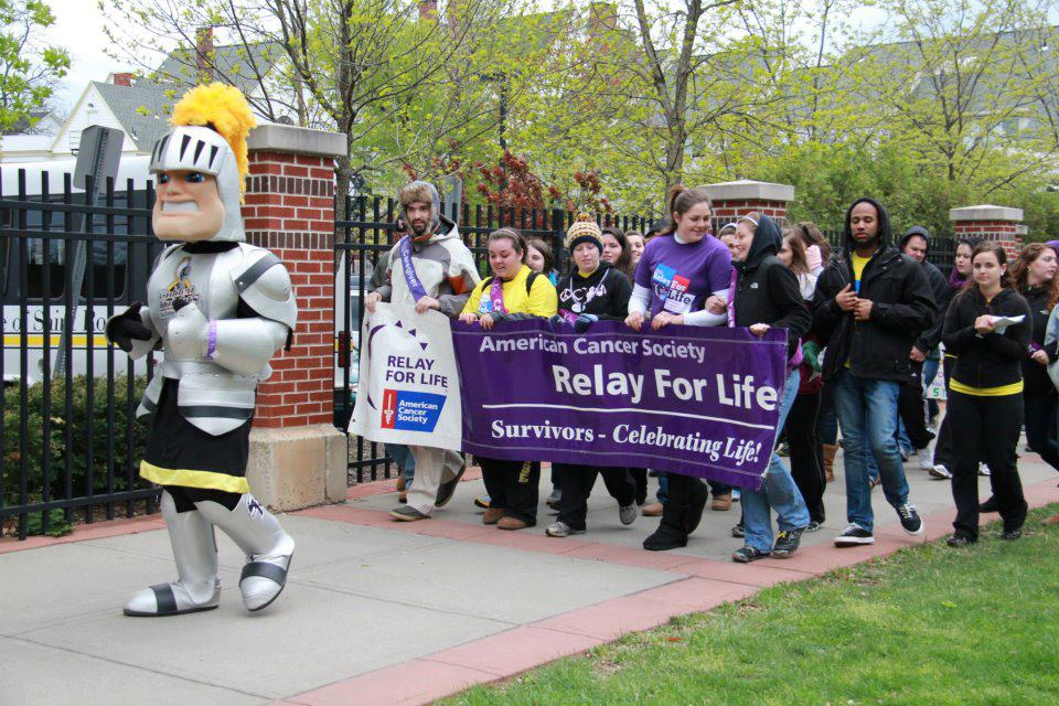 survivor caregiver lap at our 2012 Relay