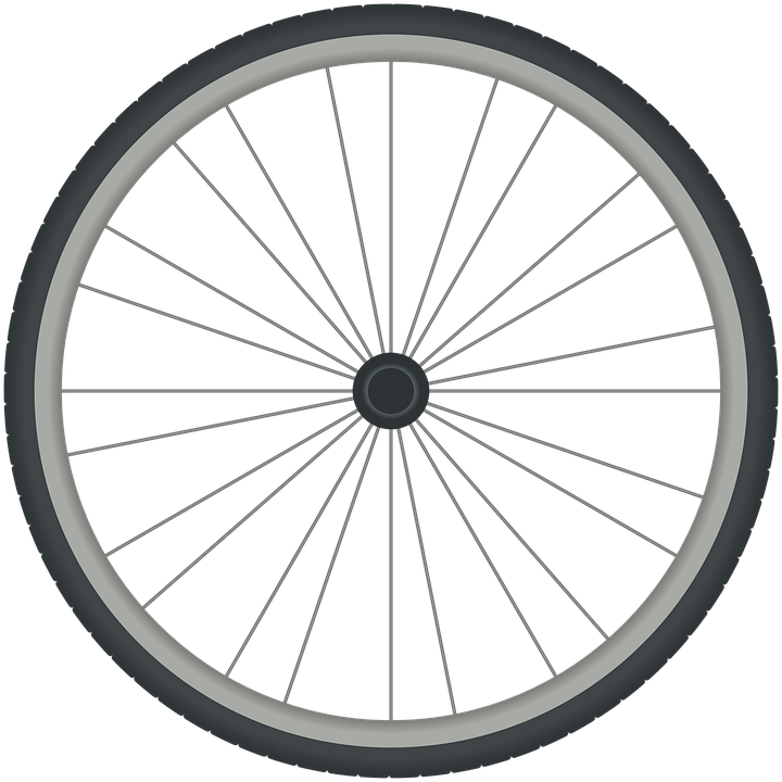 bike wheel event details logo