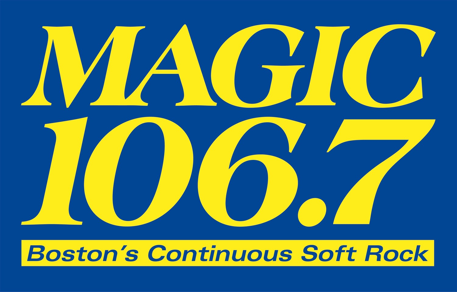 Magic 106.7 Logo 2014