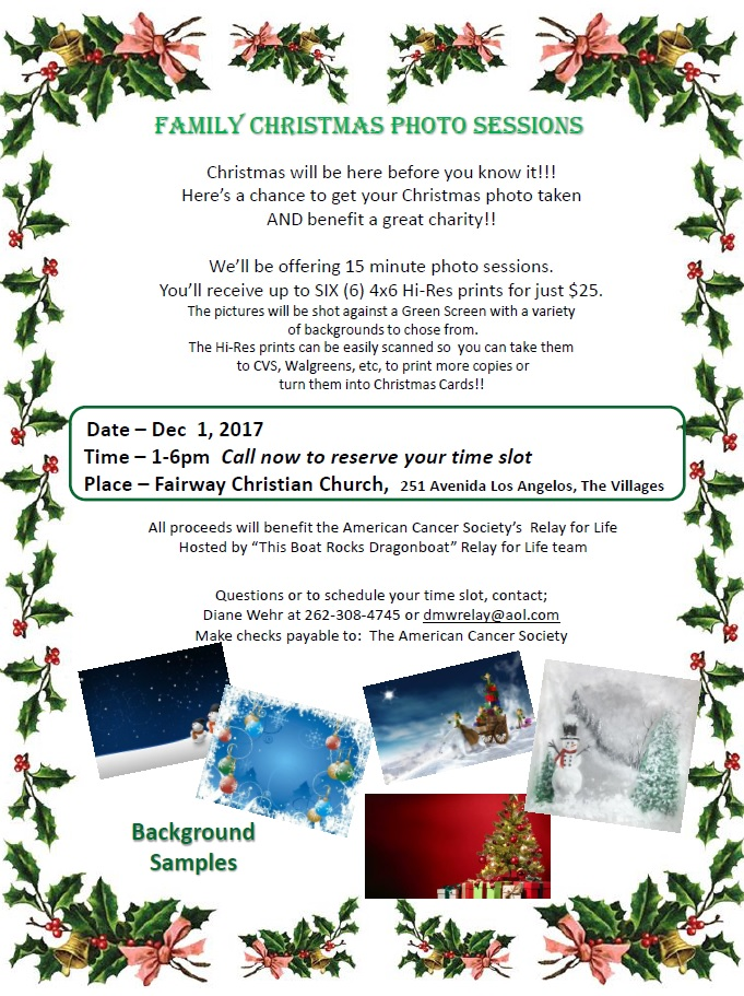 TBR - Christmas Photo Flyer
