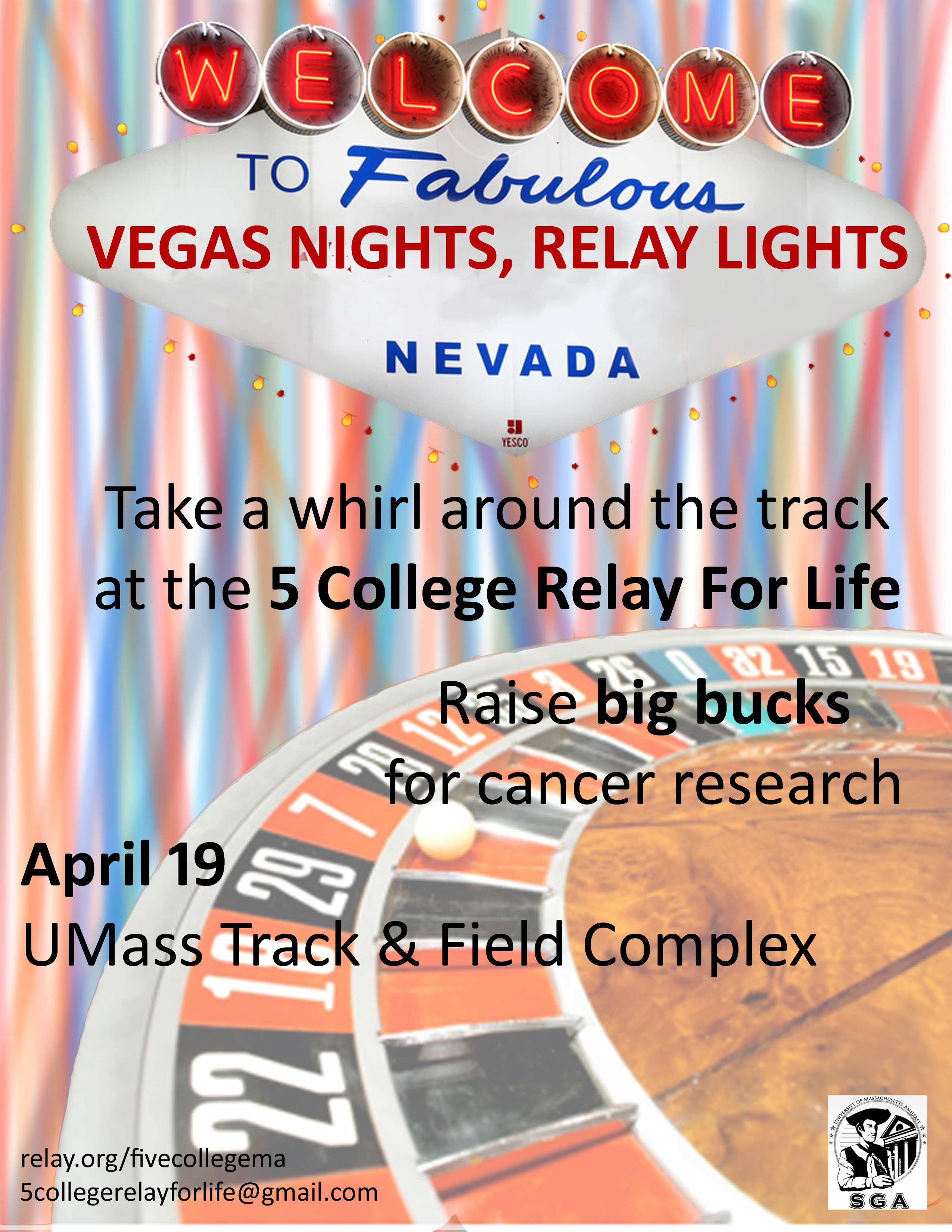5 College Vegas Flyer