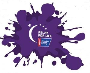 Paint Our World Purple Clip Art