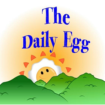 the daily egg logo