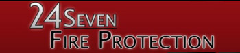 24 Seven Fire Protection logo