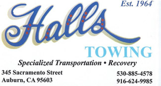 Hall's Towing logo