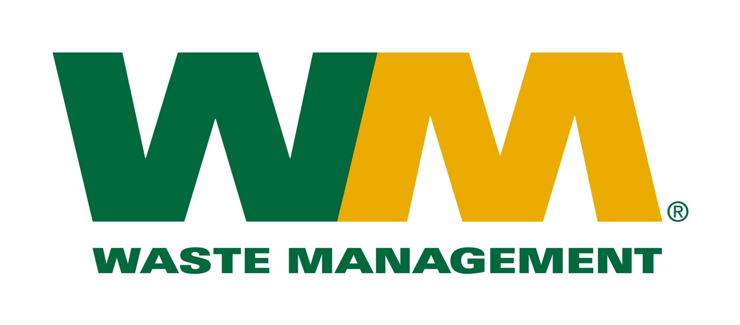 Waste Management Logo Bronze