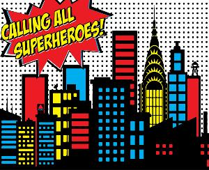 Image result for calling all superheroes
